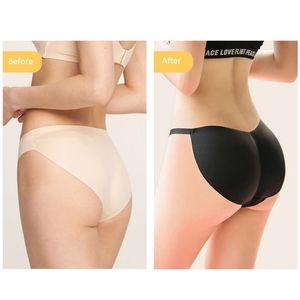 Women Sponge Padded Push Up Panties Butt Lifter G-